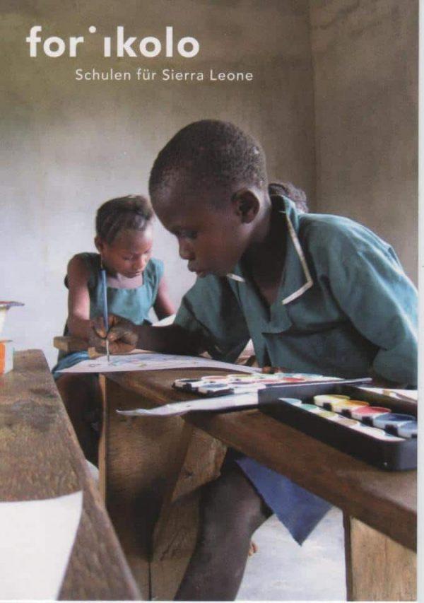 Forikolo-Kinder-Schule-Postkarte